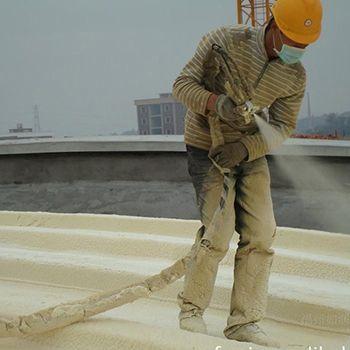 硬质聚氨酯喷涂施工